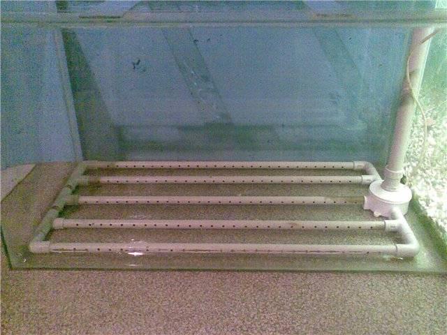 Донный фильтр для аквариума: как сделать своими руками, принцип работы, плюсы и минусы