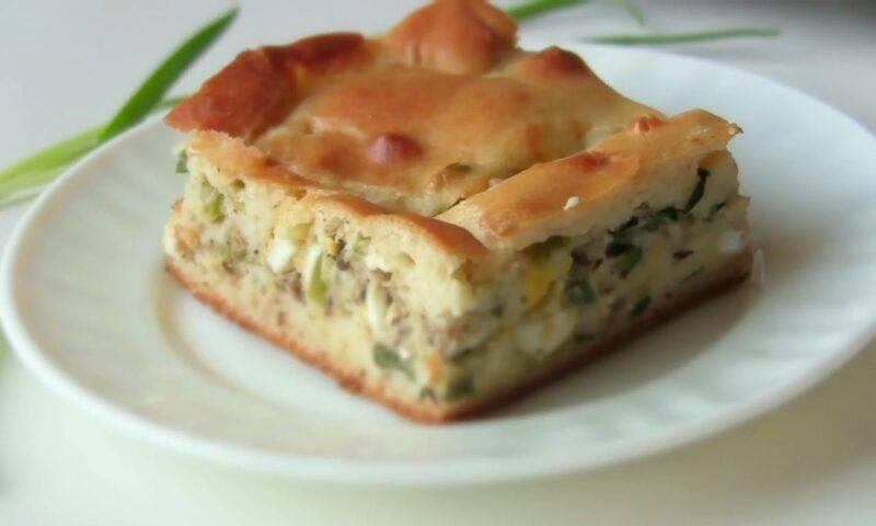 10 лучших рецептов теста для пирога с рыбой и рисом