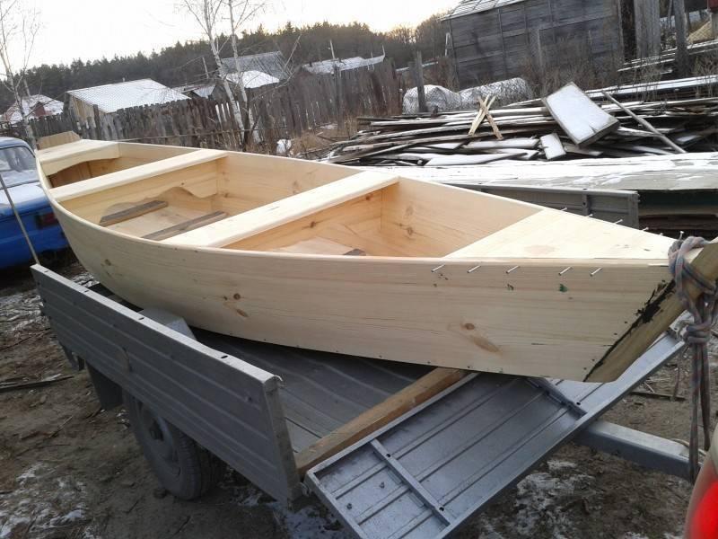 Как построить лодку своими руками видео