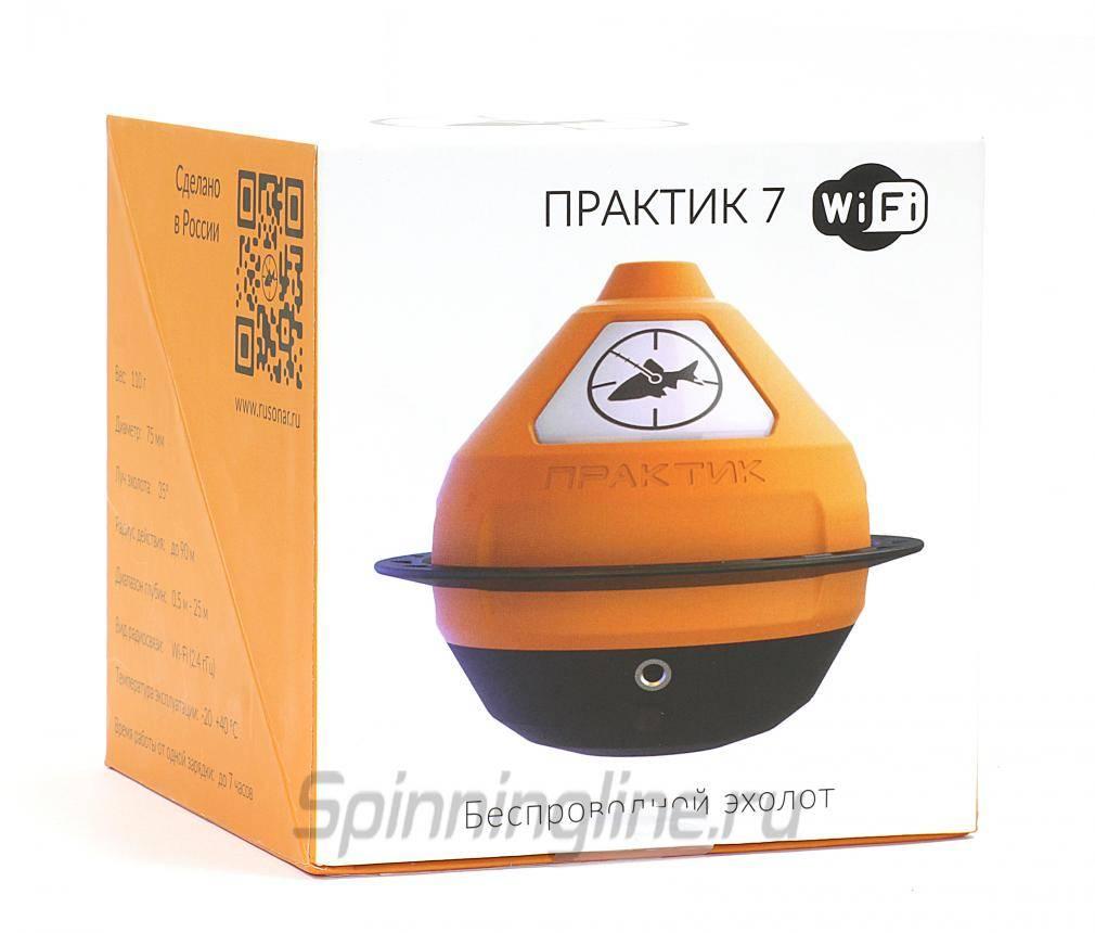 Эхолот «практик 7 маяк» с wi-fi (беспроводной), отзывы рыбаков