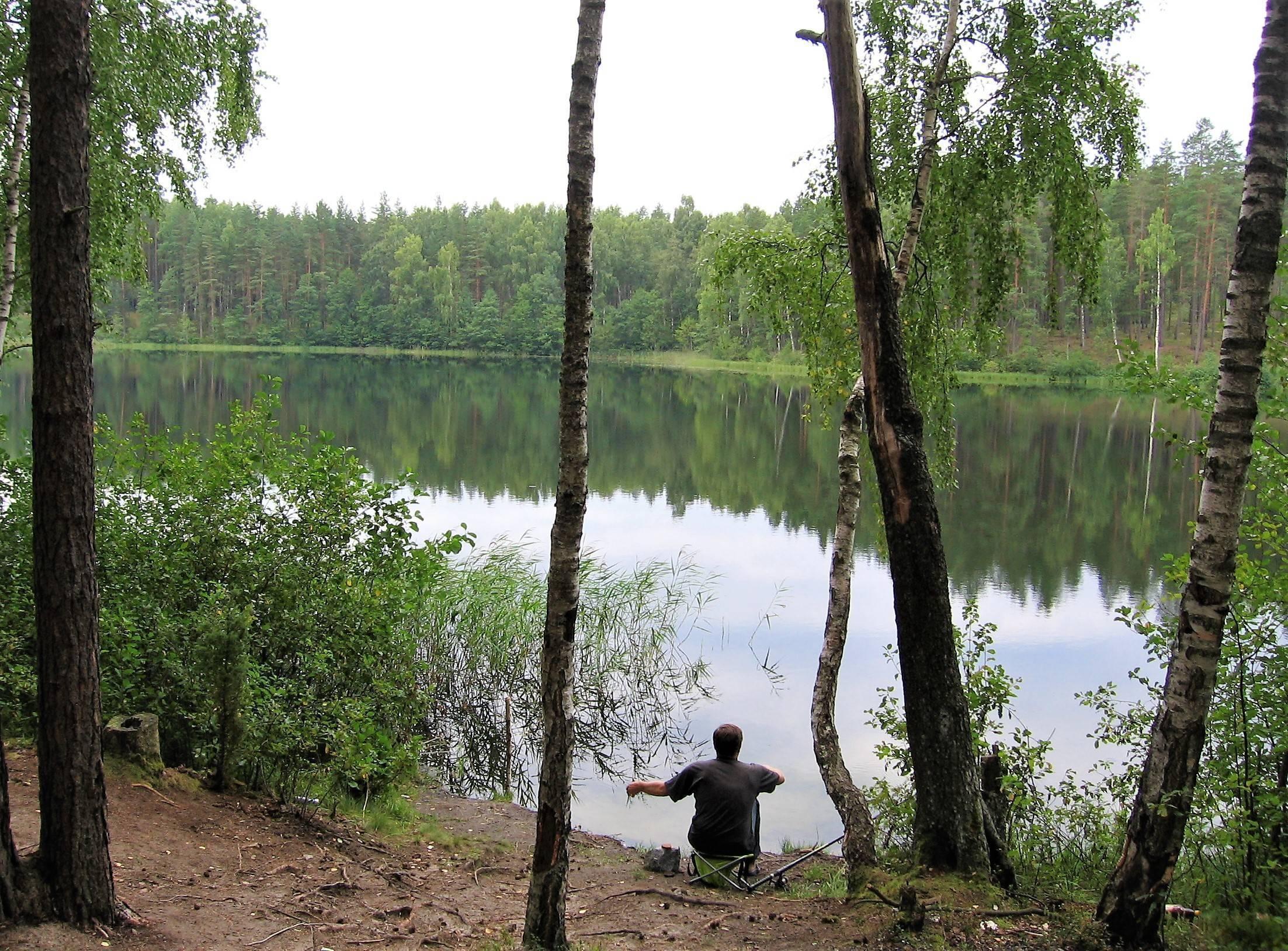 Рыбалка в тайге