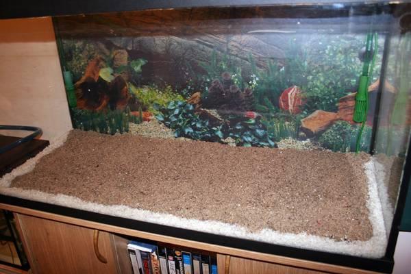 Что за чудо этот кварцевый песок для аквариума?