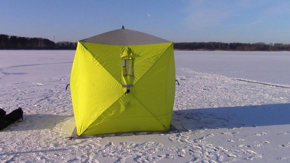 Разновидности палаток для зимней рыбалки: какую выбрать похарактеристикам