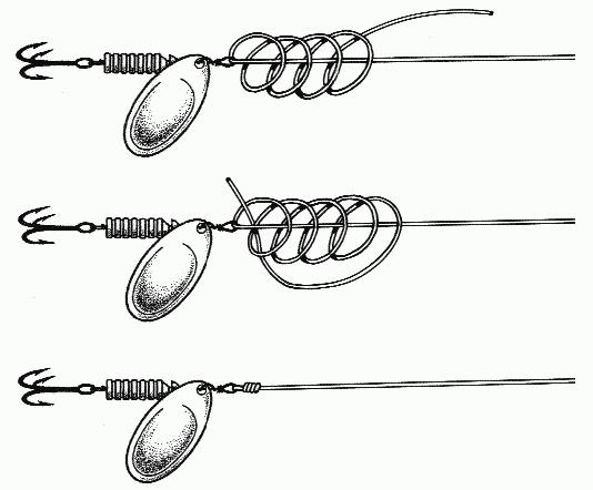 Как правильно привязать воблер на спиннинге