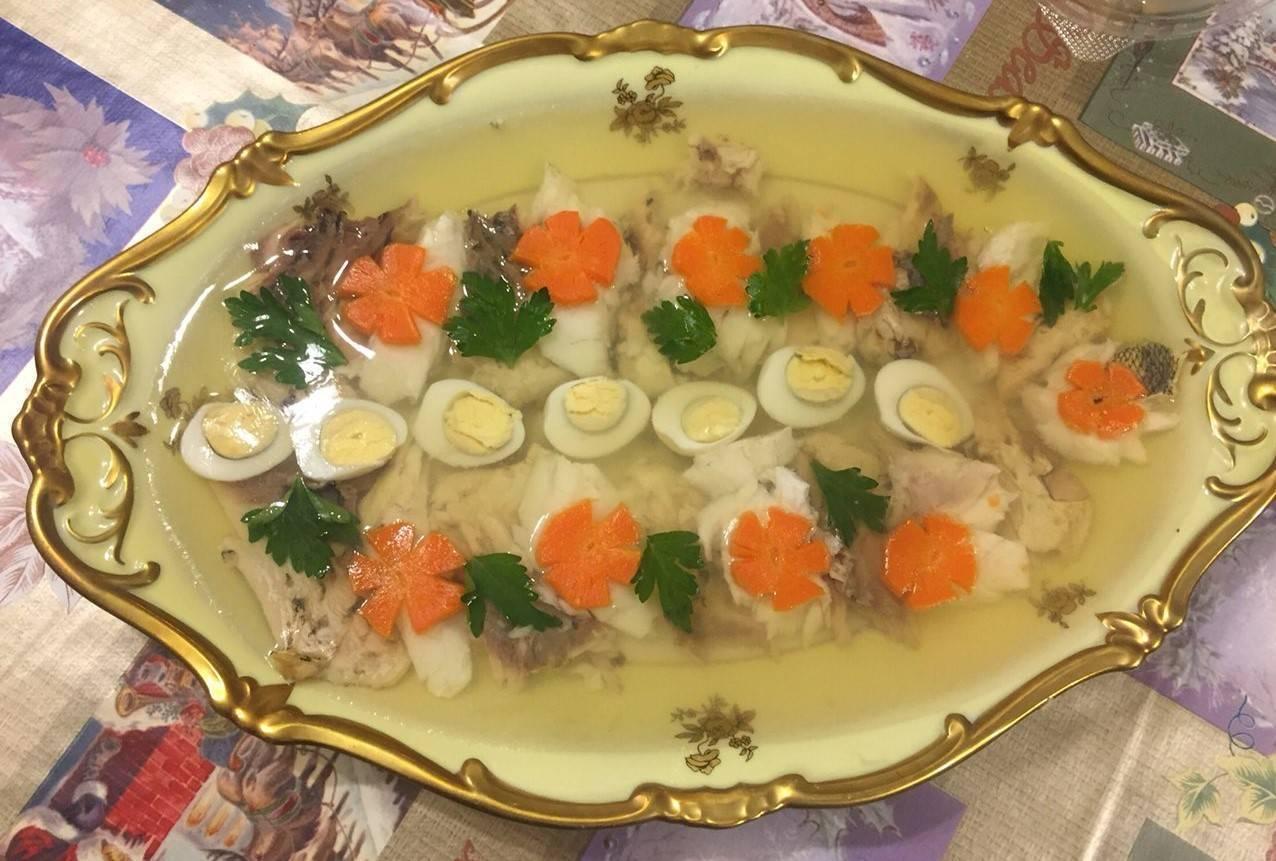Заливная рыба с желатином: как приготовить, лучшие рецепты