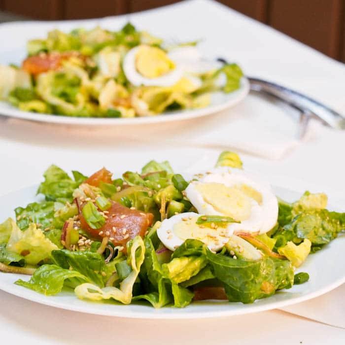 Салат «лососевый»