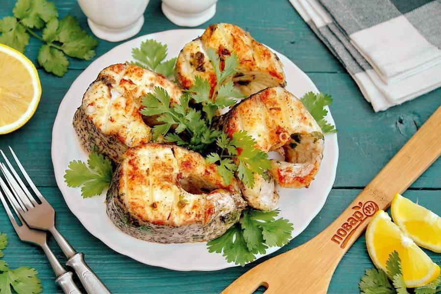 Щука с рисом из духовки – кулинарный рецепт