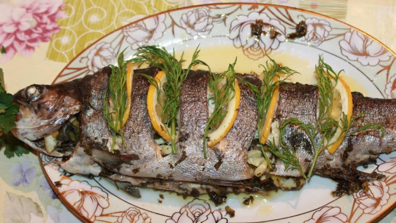 Форель, запеченная в фольге – кулинарный рецепт