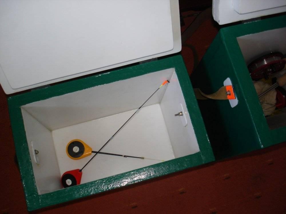 Ящик для зимней рыбалки своими руками: советы и рекомендации по изготовлению рыболовного снаряжения, а так же подробная инструкция