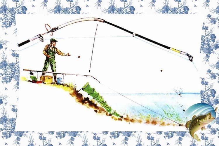 Ловля карася на боковой кивок
