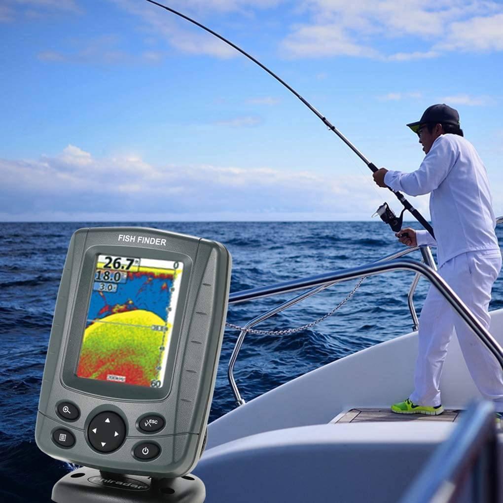 Эхолот для рыбалки с берега — инструкция по выбору и эксплуатации