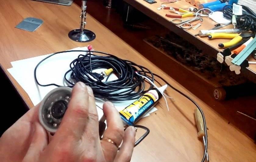 Подводная камера для зимней рыбалки своими руками: инструкция