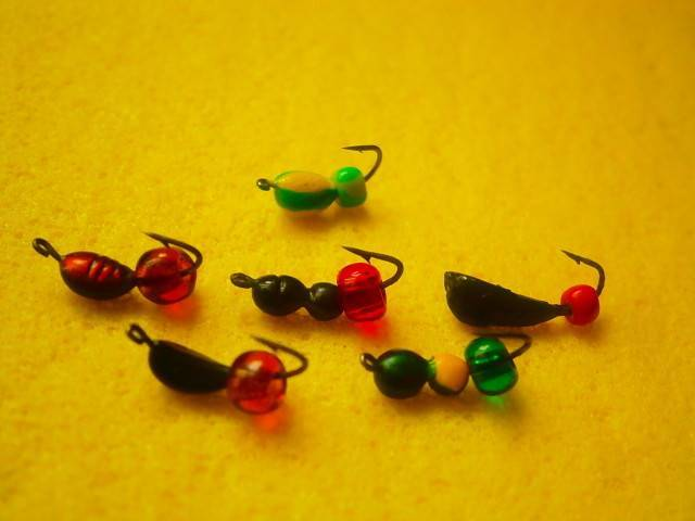 Безмотылка на окуня: ловля и лучшие мормышки форма, цвет, размер