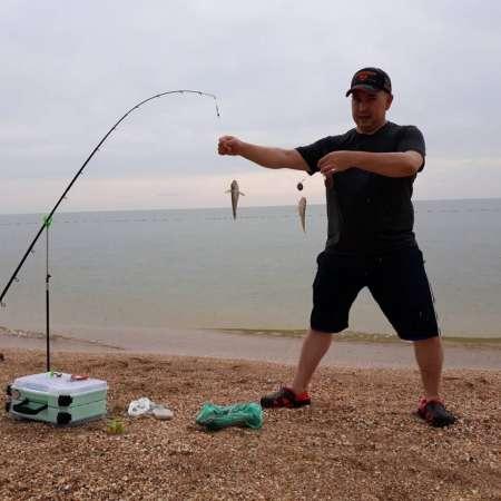 Рыбалка в голубицкой