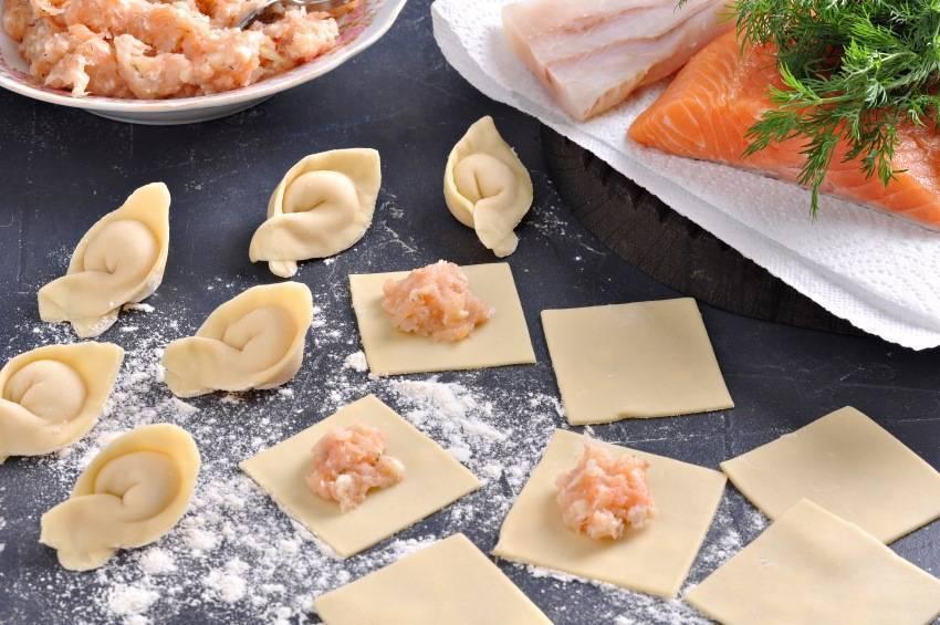 Пельмени с рыбой — как правильно и быстро приготовить