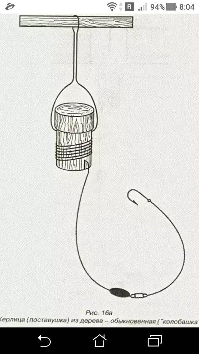 Зимняя жерлица своими руками: способы изготовления