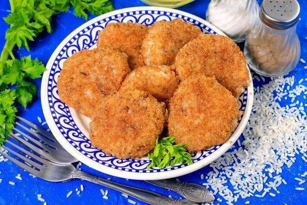 Котлеты из консервов рыбных с картофелем — пошагово с фото