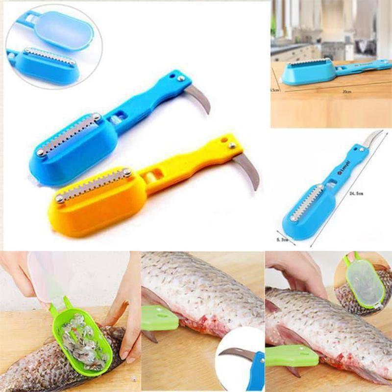 Как чистить речную рыбу от чешуи и слизи
