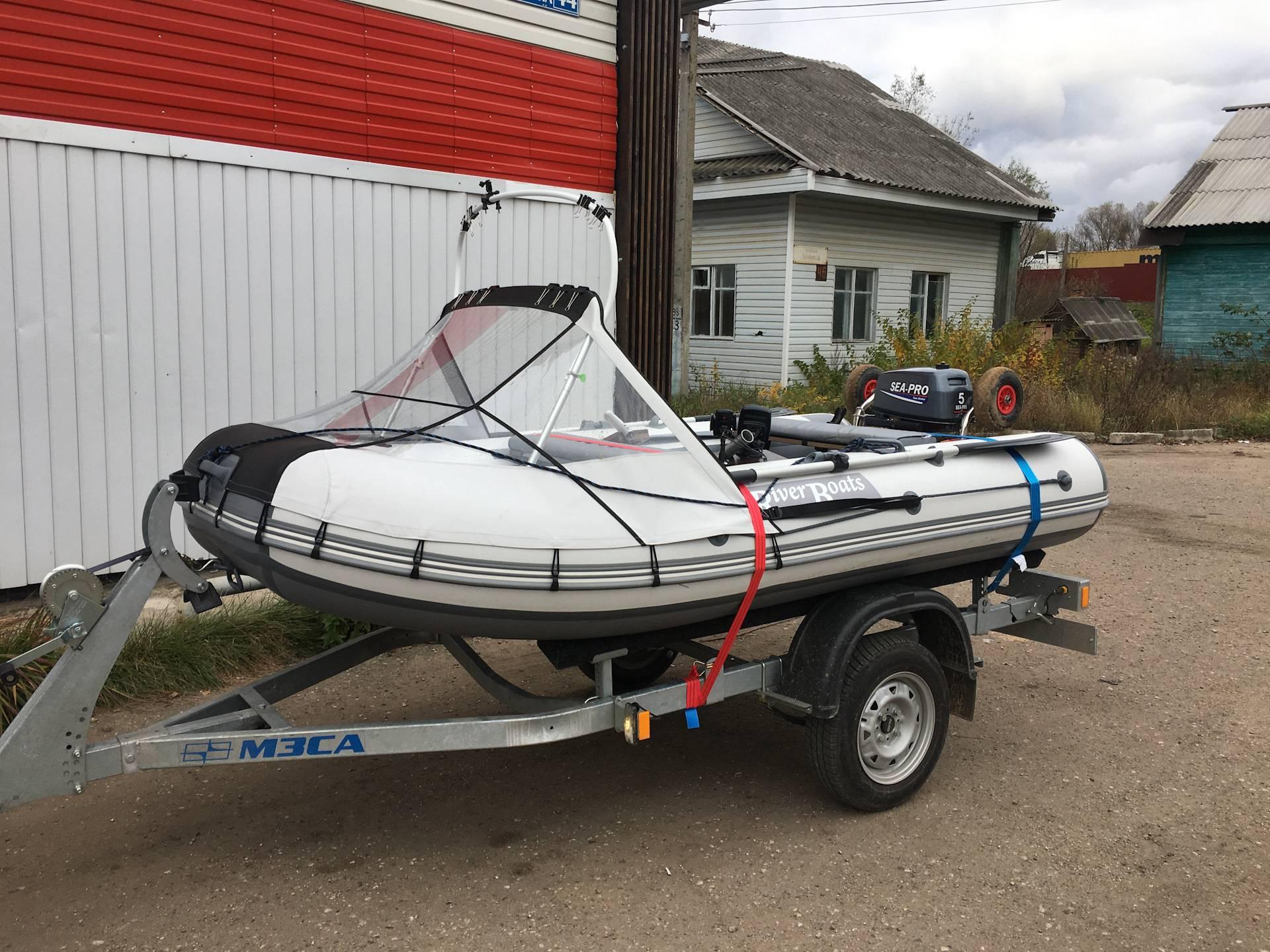 На что обратить внимание при покупке легкового прицепа для водной техники? какой прицеп выбрать для лодки или катера?