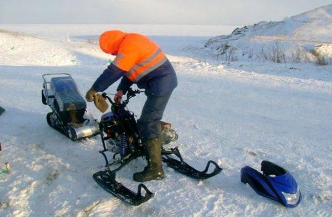 Снегоход для рыбалки: рейтинг лучших, необходимые функции и технические характеристики моделей