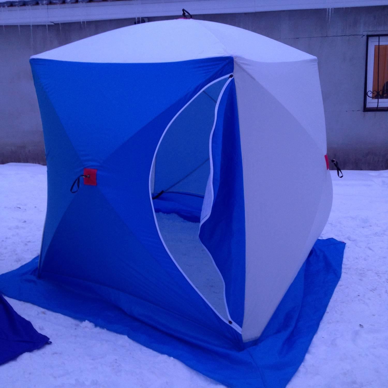 11 лучших палаток для зимней рыбалки - рейтинг 2020