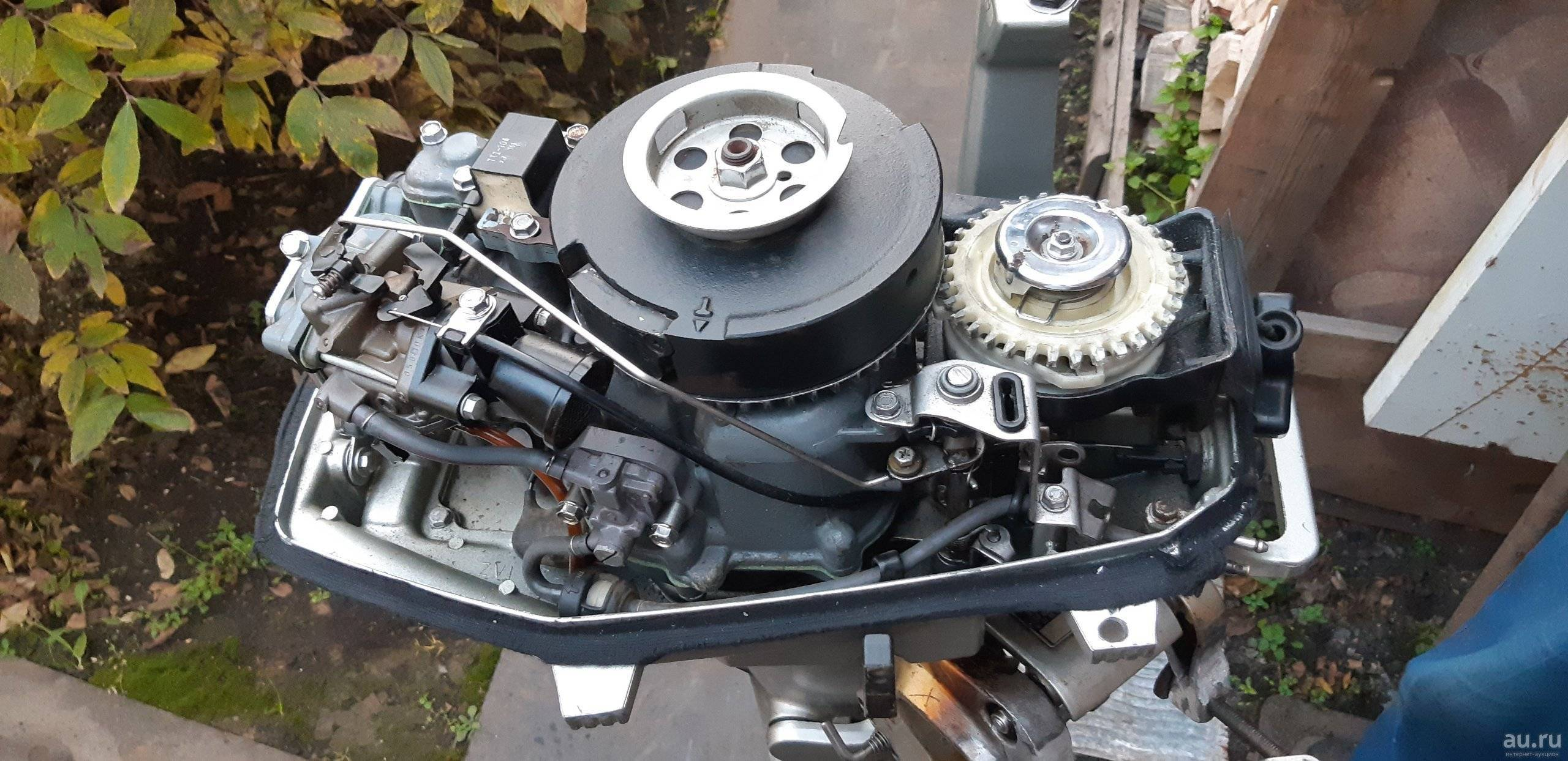 Устройство лодочного мотора на примере Honda BF 5