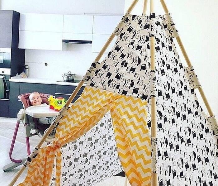 Детская палатка своими руками 500 фото, пошаговые инструкции