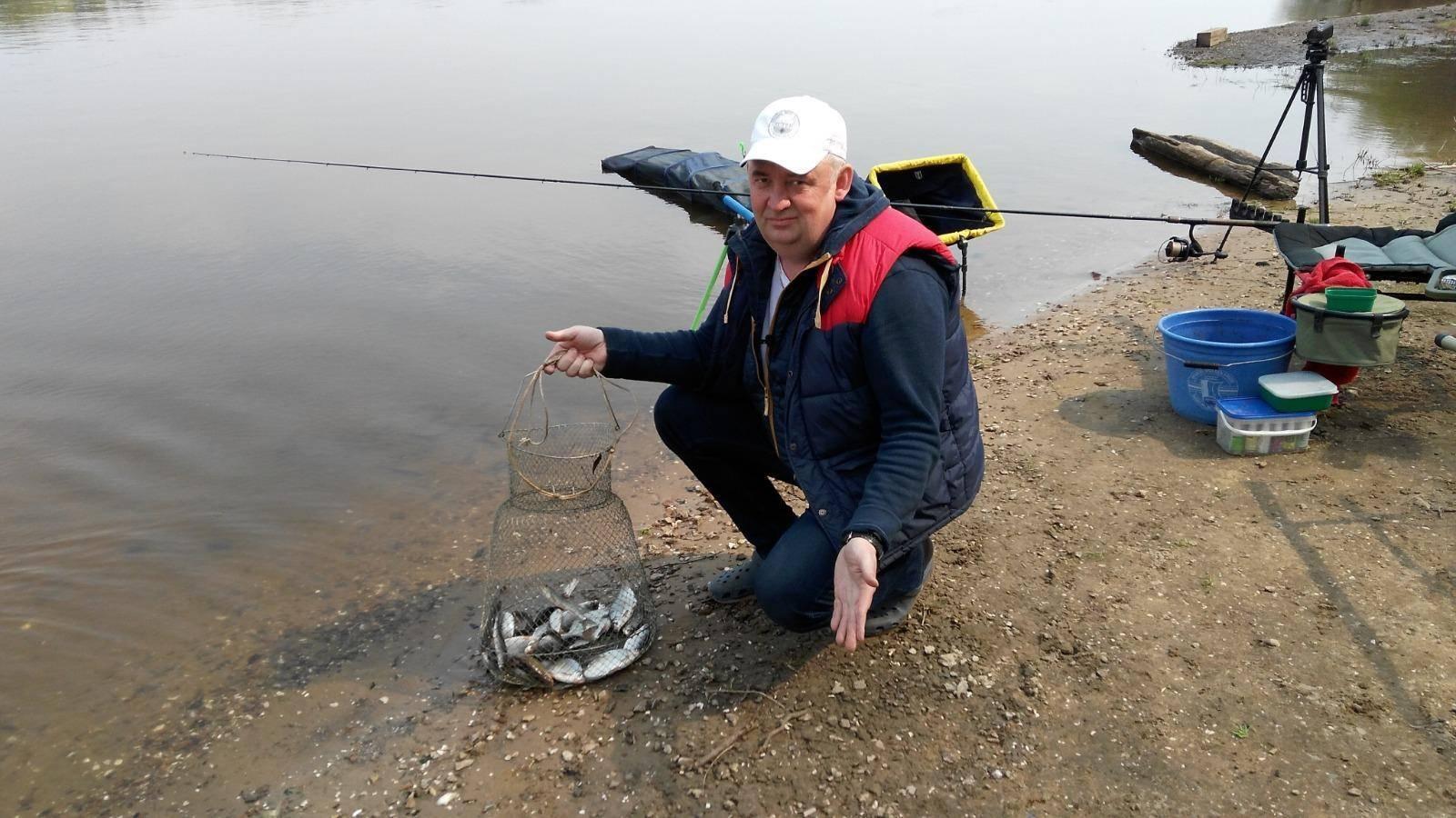 Рыболовные места на оке