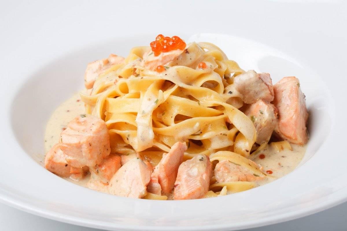 Паста с лососем – идеальный ужин за 15 минут!