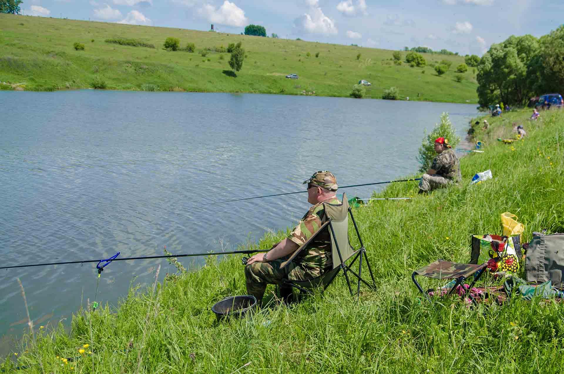 Рыбалка в кондуках тульской области