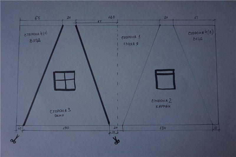 Как сделать вигвам (шалаш, палатка) для детей своими руками