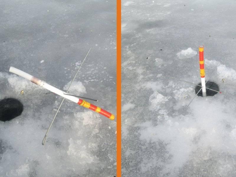 Монтаж зимних жерлиц на щуку: оснастка и способы ловли