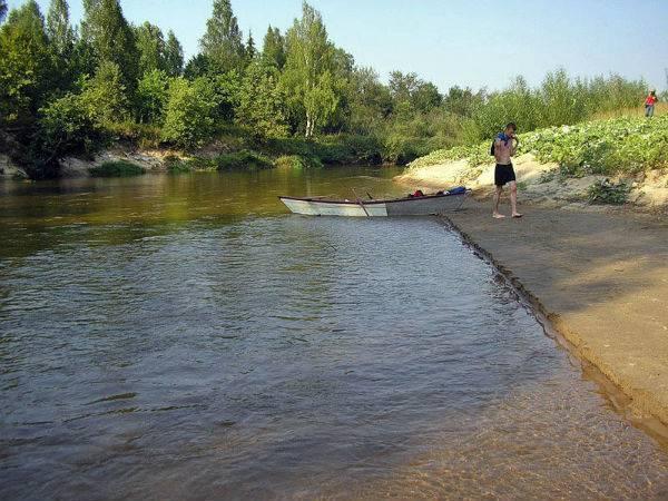 Река малая кокшага