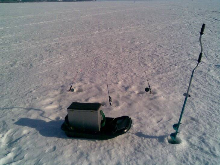 Пешня для зимней рыбалки - про рыбалку