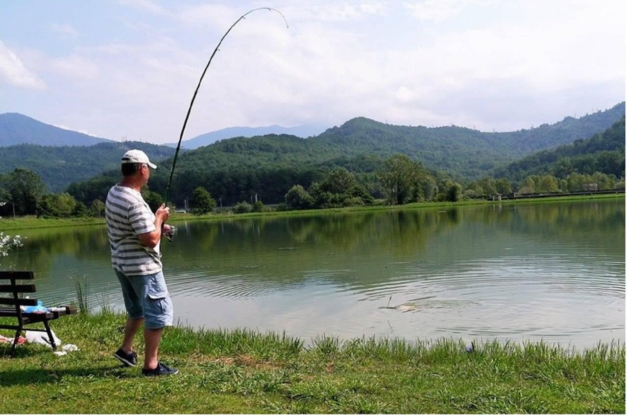Сочи, барановское озеро - рыбалка с чувством присутствия на дикой природе