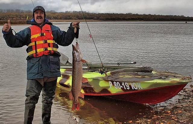 Ловля щуки в мутной воде весной - про рыбалку