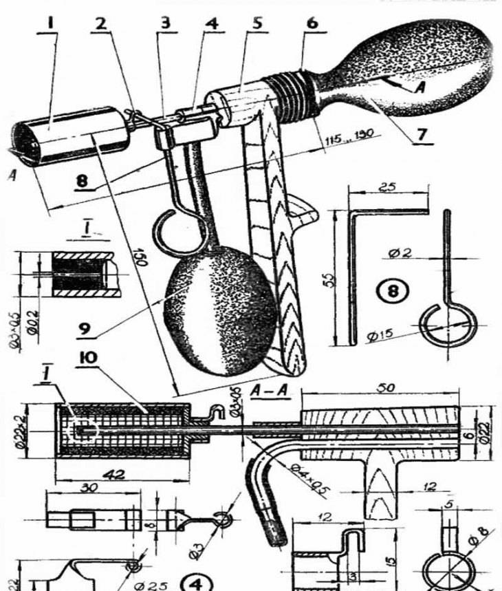 Горелка на отработке из паяльной лампы: видео инструкция по изготовлению своими руками