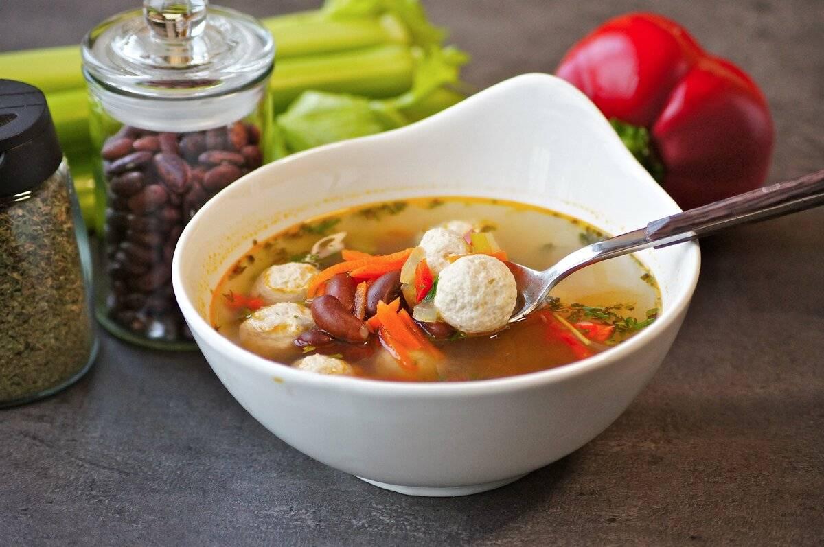 Суп с рыбными фрикадельками - полезно и вкусно: рецепт с фото и видео
