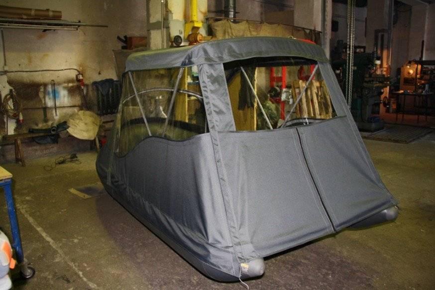 Тент на лодку своими руками: нюансы изготовления