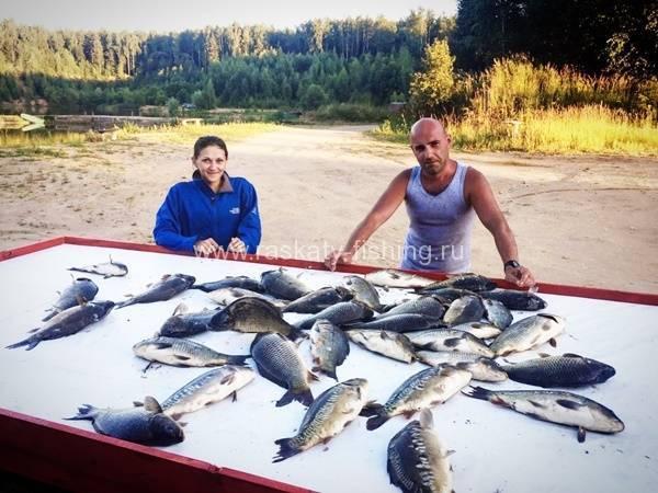 Рыбалка в одинцовском районе 2020
