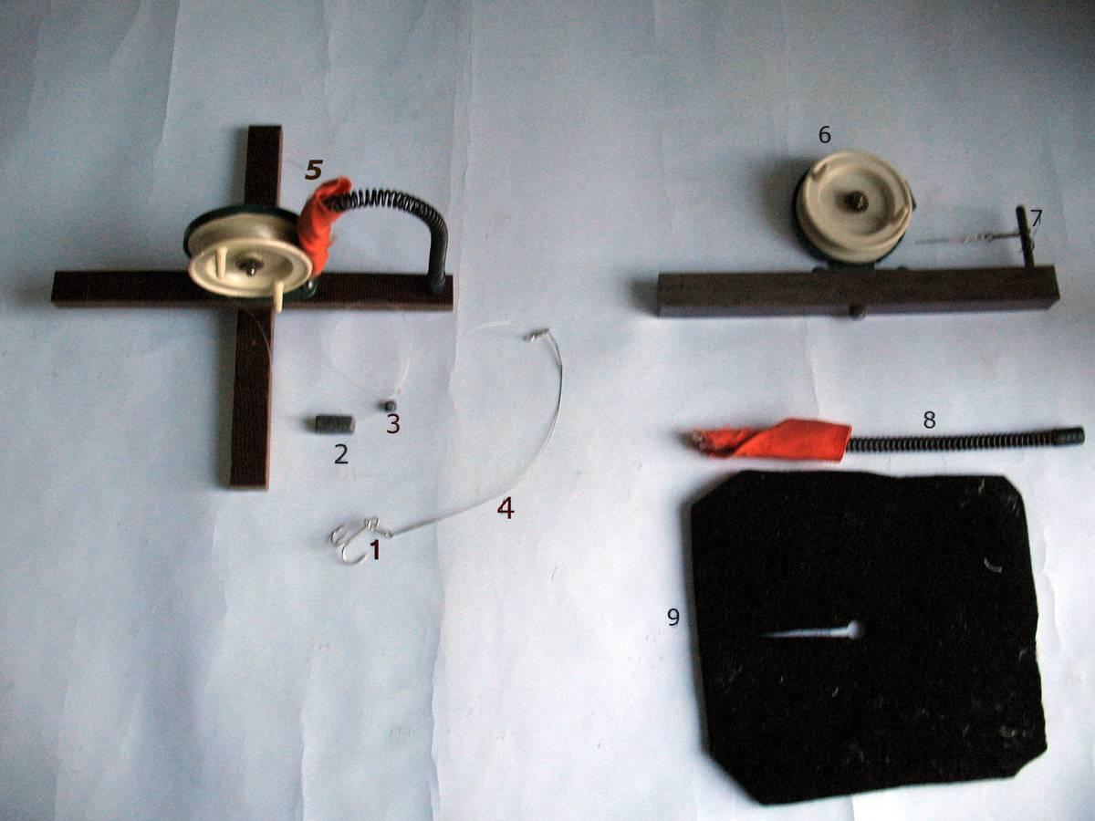 Летняя и зимняя жерлица своими руками: рогулька, флажком