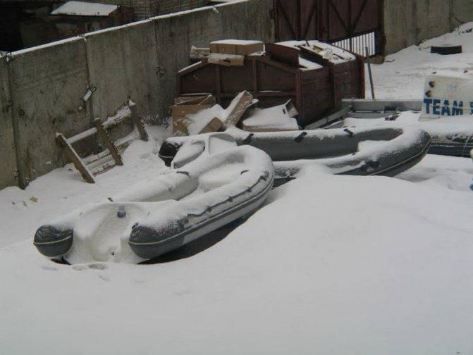 Как зимой хранить лодку пвх: в гараже или дома, подготовка, крепление