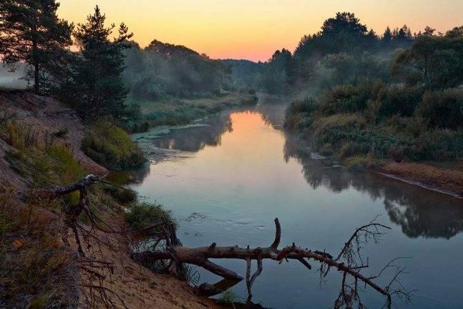 Какая река протекает во владимире. карта рек города владимир и области