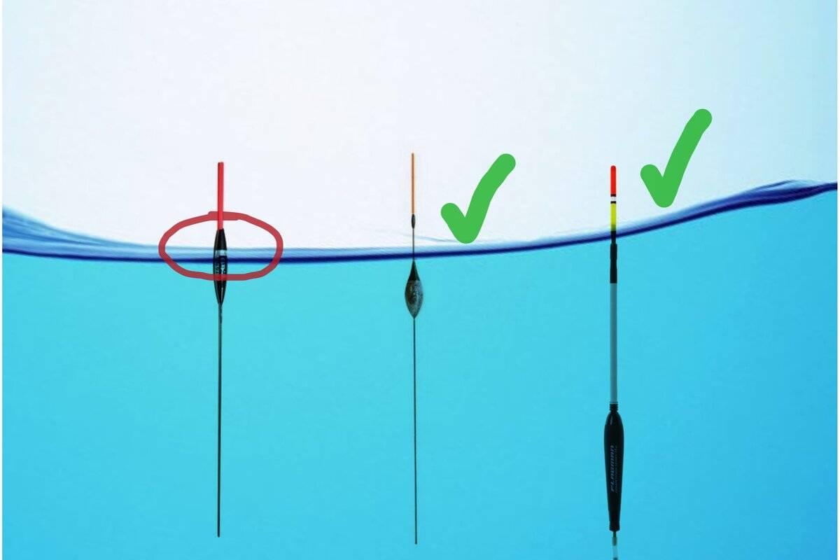 Какими бывают поплавки для ловли на течении и как их выбрать?