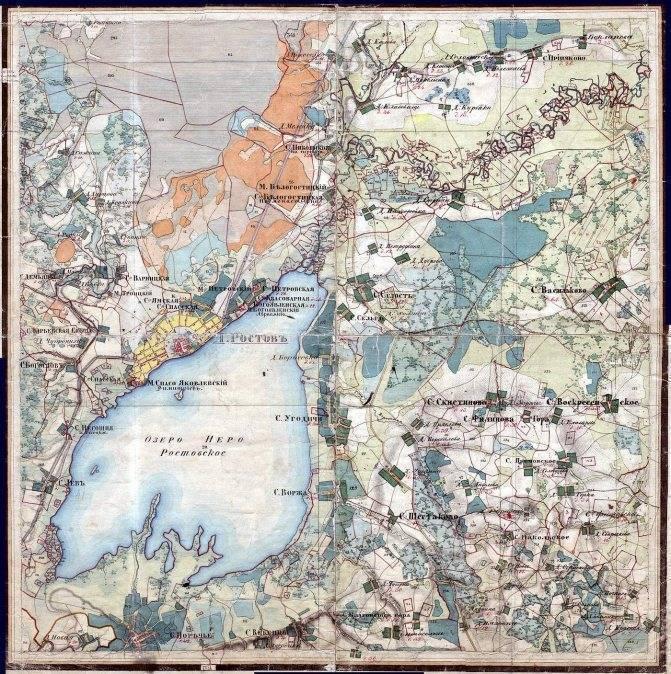 Ростовское озеро неро и легенды о сокровищах в его глубинах
