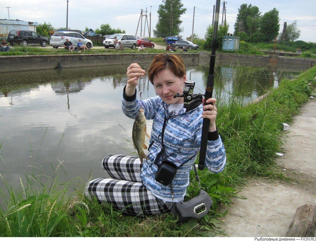 """Рыбалка в рыбном хозяйстве """"бисерово"""""""