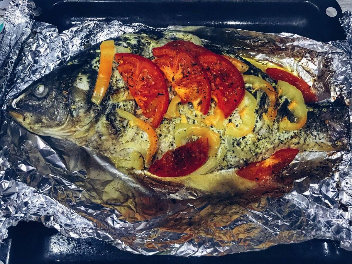 Рыба в духовке (более 100 рецептов с фото) - рецепты с фотографиями на поварёнок.ру