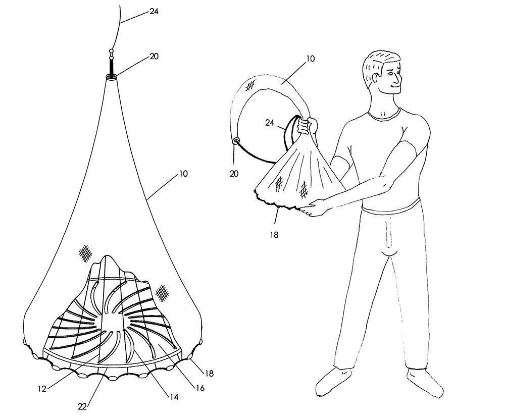 Кастинговая сеть: особенности изготовления своими руками