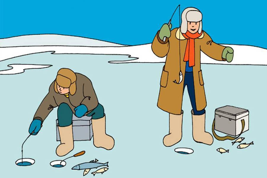 Правила безопасности рыболова на льду