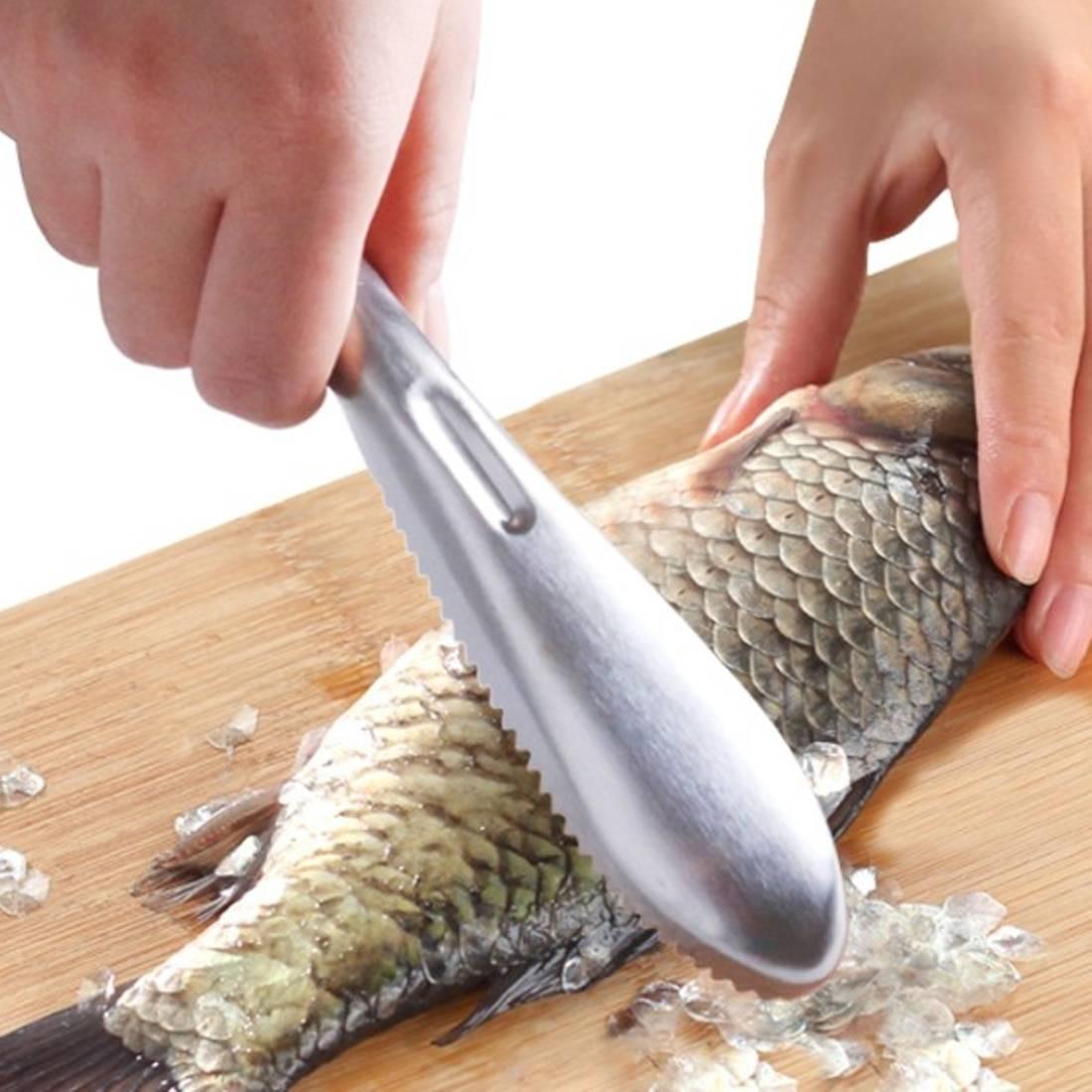 Чистка рыбы керхером
